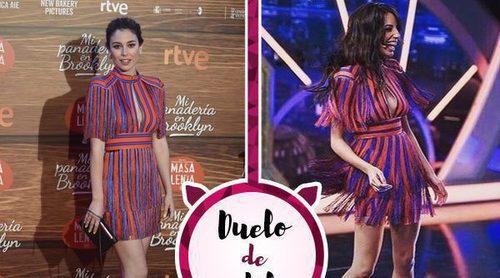 El vestido de Elisabetta Franchi más famoso entre las celebrities: ¿Blanca Suárez o Almudena Cid?