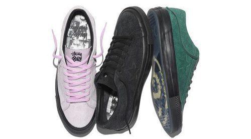 Converse y Stüssy unen fuerzas para rediseñar la icónica sneaker 'One Star 74'