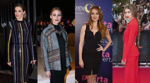 La Reina Letizia, Olivia Palermo o Gigi Hadid: los 12 mejores looks de 2016