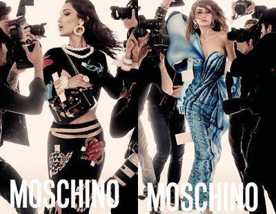 Las hermanas Gigi y Bella Hadid, protagonistas de la nueva campaña de Moschino