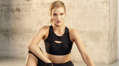 Rosie Huntington-Whiteley amplía su colección fitness con Marks & Spencer