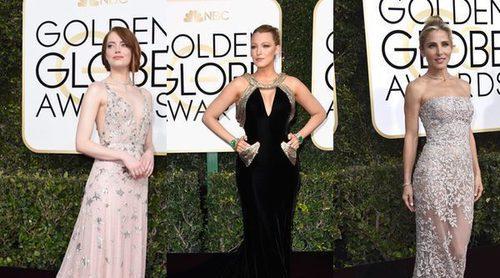 Emma Stone, Blake Lively y Elsa Pataky, entre las mejor vestidas de los Globos de Oro 2017
