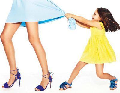 Aquazzura adapta el calzado de mujer a las niñas en su colección mini primavera/verano 2017