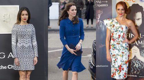Hiba Abouk, Kate Middleton y Cristina Castaño, entre las mejor vestidas de la semana