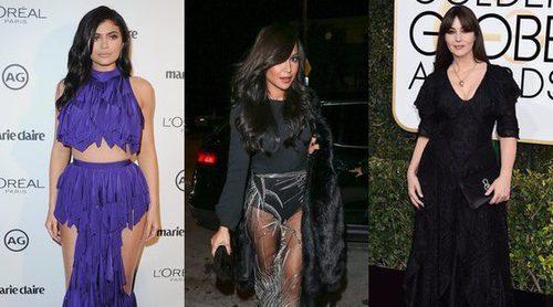 Kylie Jenner, Naya Rivera y Monica Bellucci, entre las peor vestidas de la semana