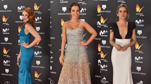 Cristina Castaño, Paula Echevarría y María León, entre las mejor vestidas de los Premio Feroz 2017