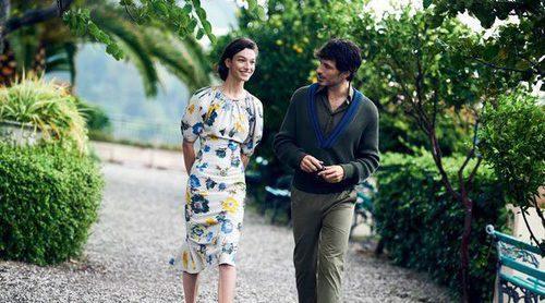 Andrés Velencoso y Lily Aldridge protagonizan la primavera/verano 2017 de Salvatore Ferragamo