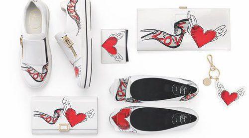 Roger Vivier da alas a los corazones en su colección para San Valentín 2017