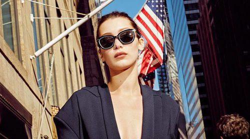 Bella Hadid protagoniza la primavera/verano 2017 de DKNY en una campaña muy diferente
