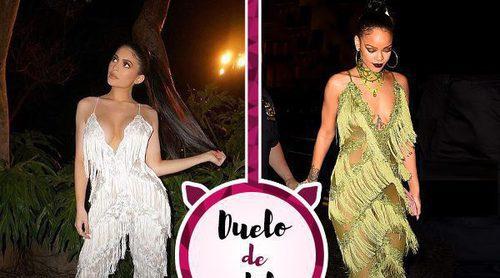 Kylie Jenner y Rihanna apuestan por un jumpsuit polémico: ¿A quién le sienta mejor?