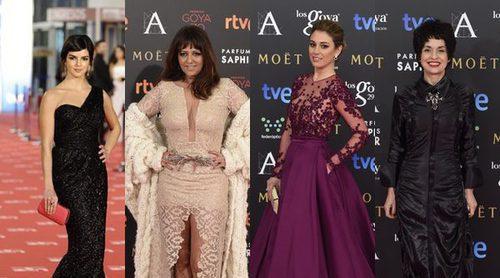 Los looks de los Goya en los últimos 5 años: ellas fueron las mejor y peor vestidas