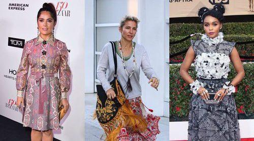 Salma Hayek, Elsa Pataky y Janelle Monáe, entre las peor vestidas de la semana
