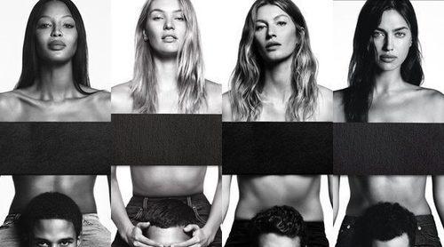 Irina Shayk, Naomi Campbell, Gisele Bündchen y Candice Swanepoel: así son las chicas Givenchy Jeans 2017