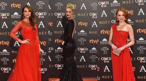 Cristina Castaño, Amaia Salamanca y Paula Echevarría: ellas han sido las mejor vestidas de los Goya 2017