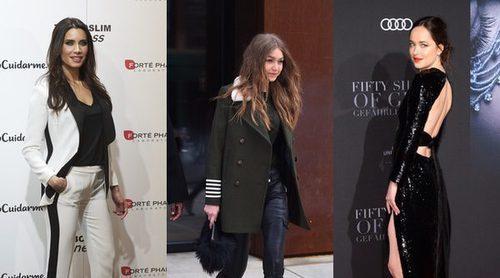 Pilar Rubio, Gigi Hadid y Dakota Johnson, entre las mejor vestidas de la semana