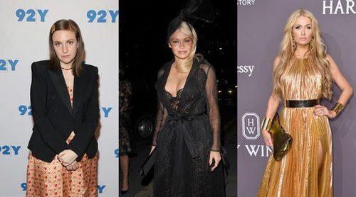 Pamela Anderson, Lena Dunham y Paris Hilton, entre las peor vestidas de la semana