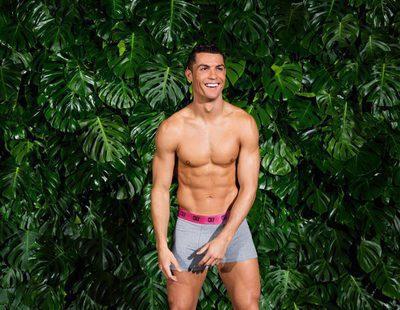 Cristiano Ronaldo luce cuerpazo en su nueva colección de ropa interior primavera/verano 2017