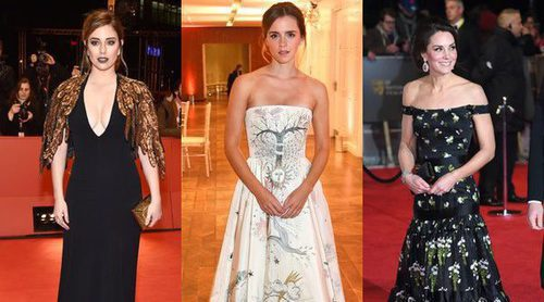 Kate Middleton, Blanca Suárez y Emma Watson, entre las mejor vestidas de la semana