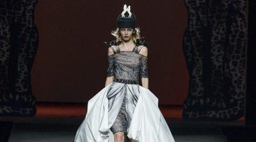 Ion Fiz regala misterio y poder con su colección 'Eccentrica' en la Madrid Fashion Week
