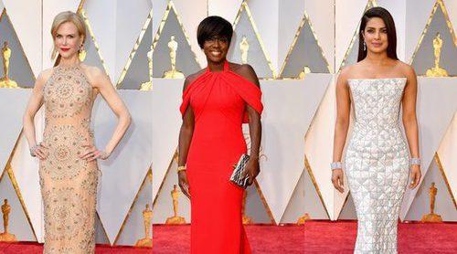 Nicole Kidman, Viola Davis y Priyanka Chopra, entre las mejor vestidas Premios Oscar 2017