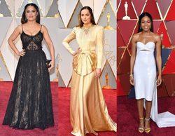 Salma Hayek, Dakota Johnson y Naomi Harris, entre las peor vestidas de los Premios Oscar 2017