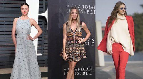Miranda Kerr, Patricia Montero y Gigi Hadid, entre las mejor vestidas de la semana