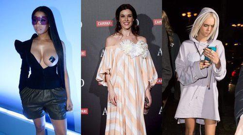 Nicki Minaj, Cara Delevingne y Raquel Sánchez Silva, entre las peor vestidas de la semana