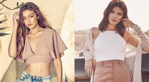 Gigi Hadid y Kendall Jenner, protagonistas de la primavera/verano 2017 de Penshoppe