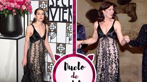 Carlota Casiraghi apuesta por el vestido de Chanel de Carolina de Mónaco: ¿Casualidad o intención?