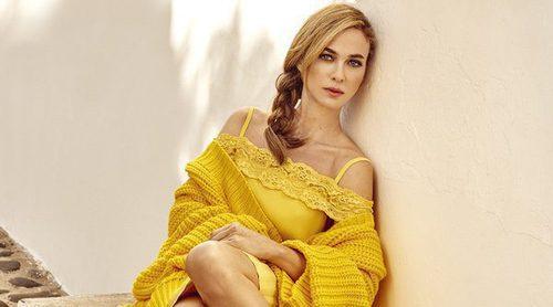 Marta Hazas presenta la colección primavera/verano de Merkal Calzados