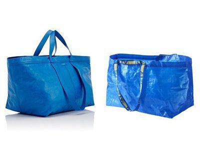 Balenciaga se inspira en Ikea para el diseño de su nuevo bolso
