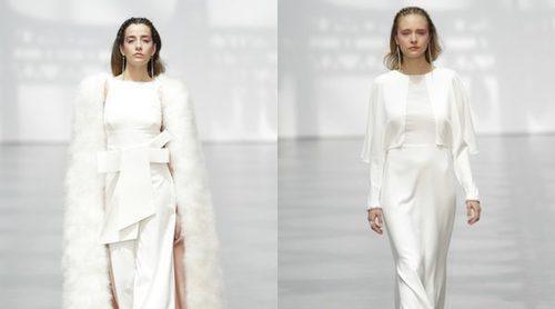 Juanjo Oliva debuta en la Pasarela Costura España 2017 con una colección muy vintage
