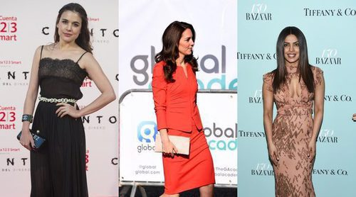 Adriana Ugarte, Kate Middleton y Priyanka Chopra, entre las mejor vestidas de la semana