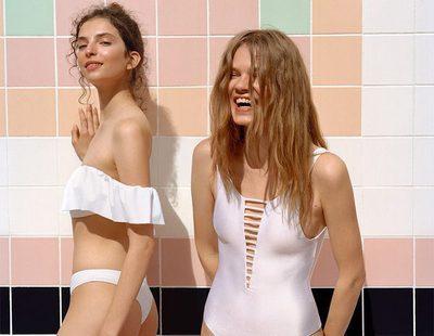 Pull&Bear propone una línea de baño muy versátil y noventera para primavera/verano 2017