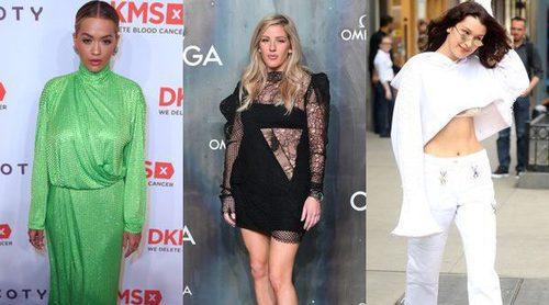 Rita Ora, Bella Hadid y Ellie Goulding, entre las peor vestidas de la semana