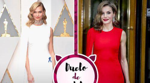 Karlie Kloss y la Reina Letizia con el mismo Stella McCartney. ¿Quién luce mejor el vestido?