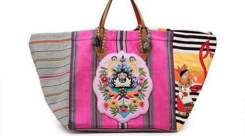 Así es la colección de bolsos de Christian Louboutin cosida por artesanas mayas