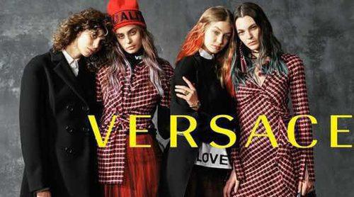 Gigi Hadid protagoniza la campaña otoño/invierno 2017 para Versace