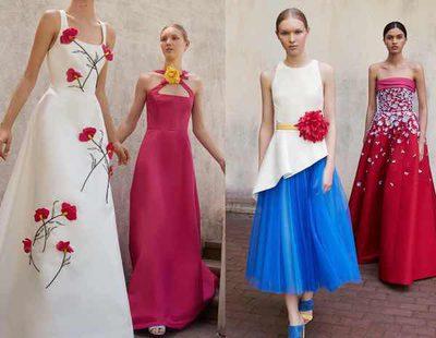 Carolina Herrera presenta el mundo de la fantasía floral en su colección Resort 2018