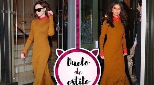 Selena Gomez apuesta por un look de Victoria Beckham: ¿A quién le sienta mejor?