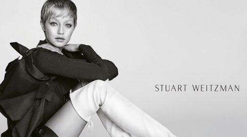 Gigi Hadid evoca a la actriz Jean Seberg para la campaña 2017 de  Stuart Weitzman
