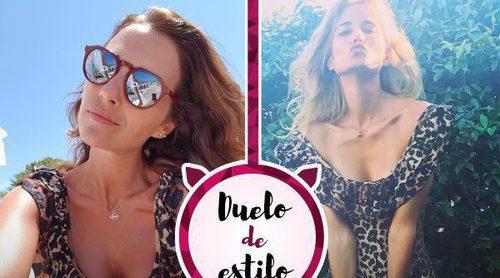 Paula Echevarría y Alba Carrillo coinciden en gustos: así es su bañador más salvaje
