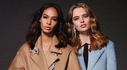 La top model Joan Smalls y Anna Mila protagonizan la colección otoño/invierno de Liu Jo