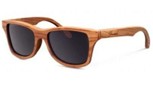 Gafas de sol de madera, una tendencia innovadora