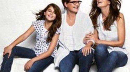 Cindy Crawford posa con su madre y su hija para JC Penney