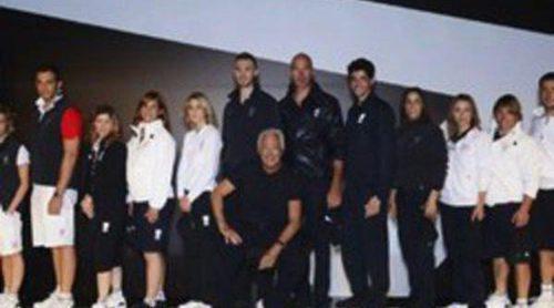 Italia presenta su equipación de Armani para los Juegos Olímpicos de Londres 2012