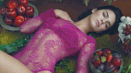 Kendall Jenner luce la colección otoño/invierno 2017/2018 de La Perla