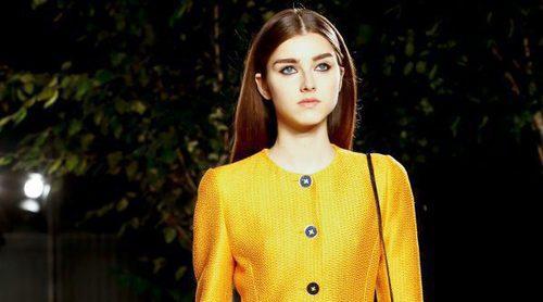 Carolina Herrera tiñe la New York Fashion Week de amarillo con su primavera/verano 2018