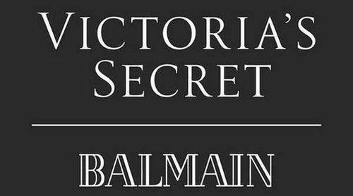 Balmain anuncia una colección cápsula con Victoria's Secret que se presentará en el Fashion Show 2017