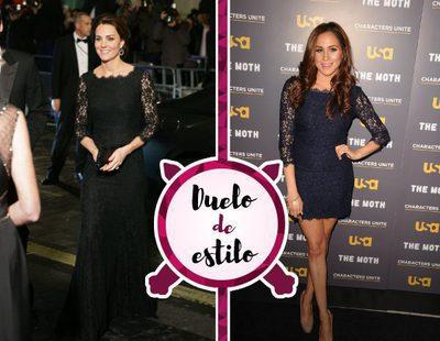 Kate Middleton, Meghan Markle y un mismo vestido. ¿A quién le sienta mejor?